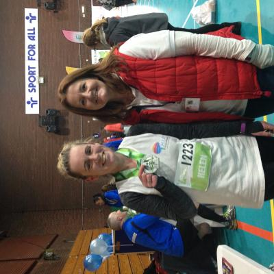 Helen and Lisa Post-Chester 10K 2018