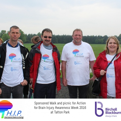HIP sponsored walk 14