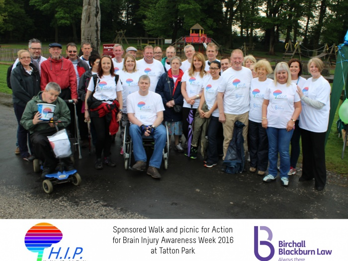 HIP sponsored walk 19