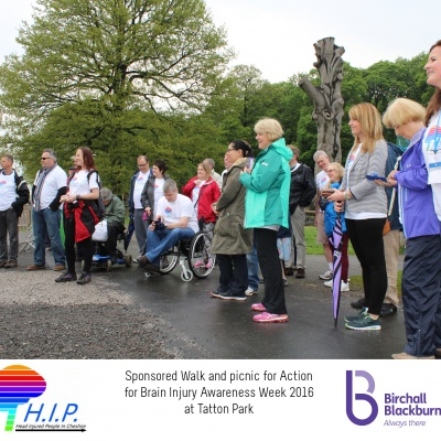 HIP sponsored walk 23
