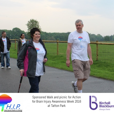 HIP sponsored walk 30