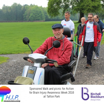 HIP sponsored walk 45