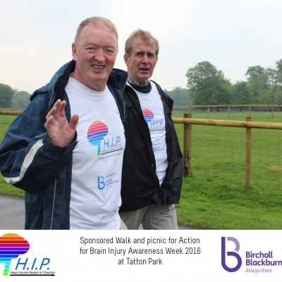 HIP sponsored walk paul